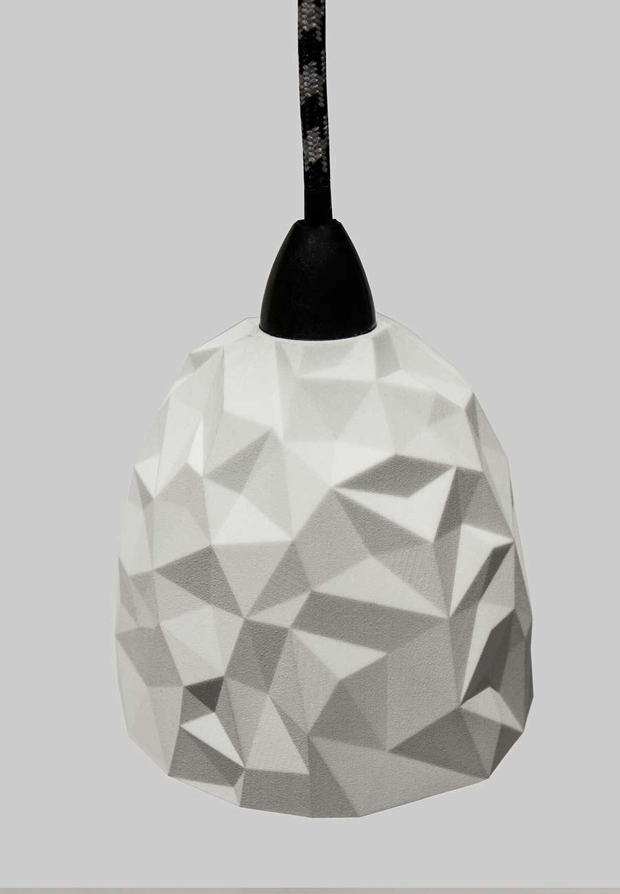 Meshi 3d printed pendant lamp vincent buret meshi a 3d printed pendant lamp aloadofball Image collections