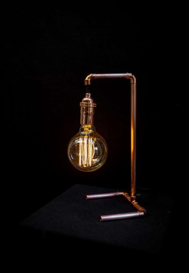 The Copper Collection – exploring 10 table lamps