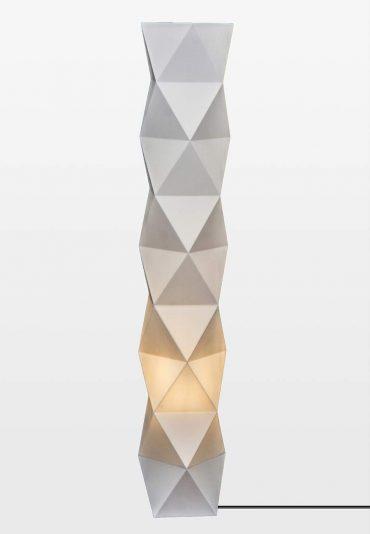 Paper – a lamp shade 3D printed