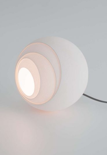 Variable Bols – a shifting 3D printed lamp