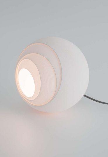 Variable Bols – a shifting 3D printed lamp
