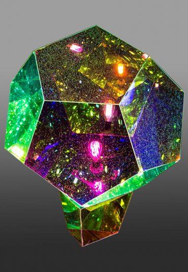 Mirobolante – a light sculpture – Dodecahedron