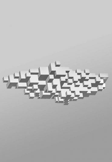 Pixelated Cloud – a light sculpture project