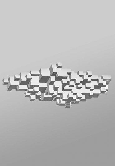 Pixelated Cloud – a light sculpture project