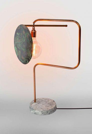 Revolving lamp – a 360 shaded desk lamp